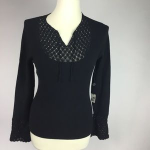 NEW MAX STUDIO KNIT BLOUSE